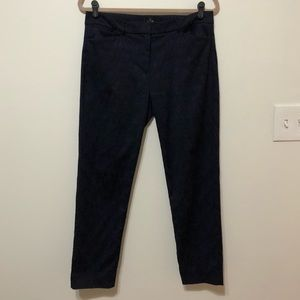 White House Black Market Navy Slim Ankle Pants